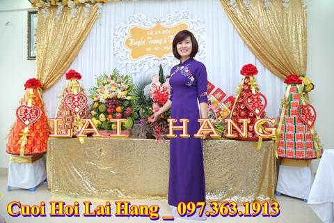 Sắp lễ ăn hỏi chuyên nghiệp tại Hà Nội