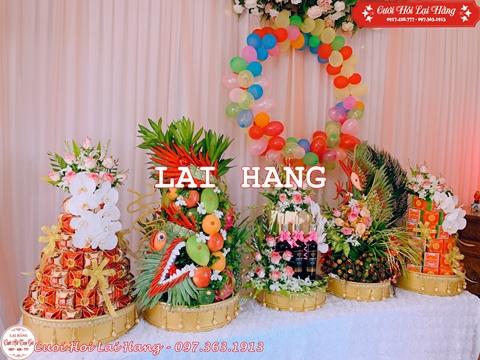 Sắp lễ ăn hỏi trọn gói tại Hà Nội