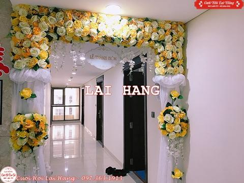Cho Thuê Cổng Hoa Cưới Hỏi CHL10